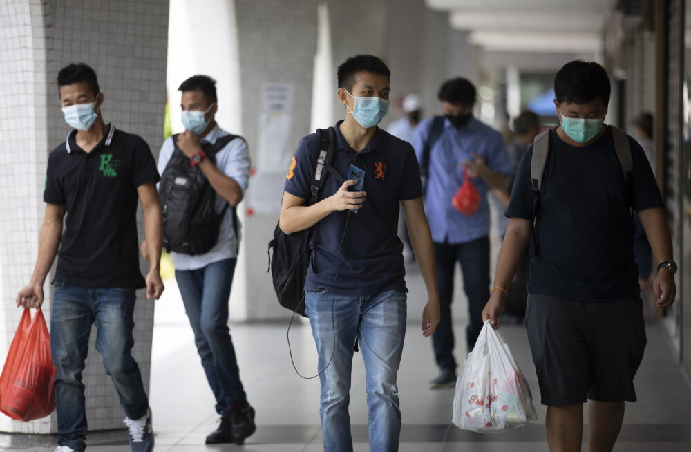 Singapur: pooltel uutest koroonasse nakatunutest ei ole ühtki sümptomit