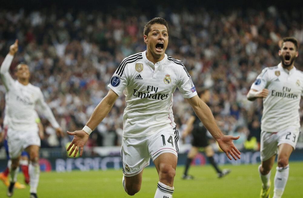 Javier Hernandez lõi võiduvärava