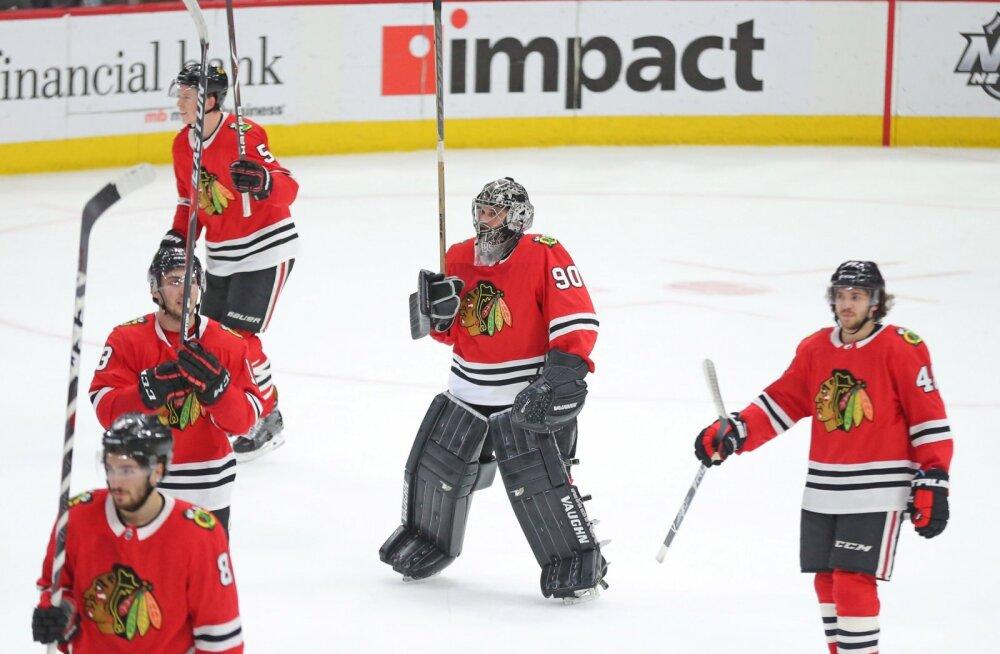 NHL-i klubi pidi väravasse panema 36-aastase raamatupidaja, kes mängis viimati 13 aastat tagasi ülikooliliigas