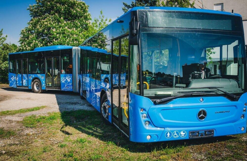 Pärnu uued bussid