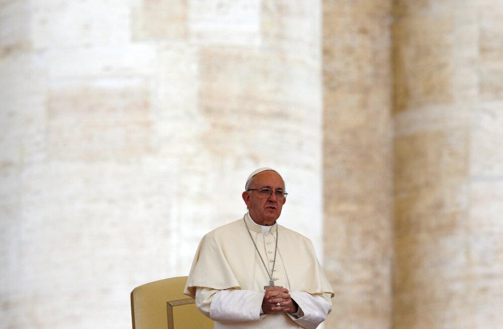 Paavst: kristlasele peaks roheline mõtteviis olema kohustuslik