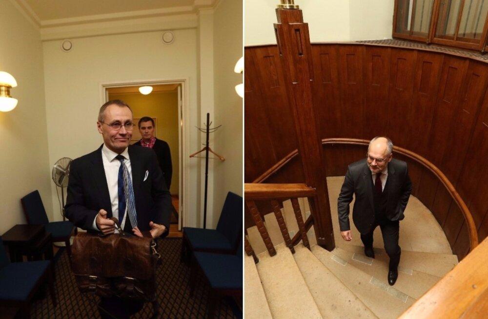 ФОТО DELFI: Письмо министру культуры не помогло. Лукаса сменит на посту директора ERM Алар Карис