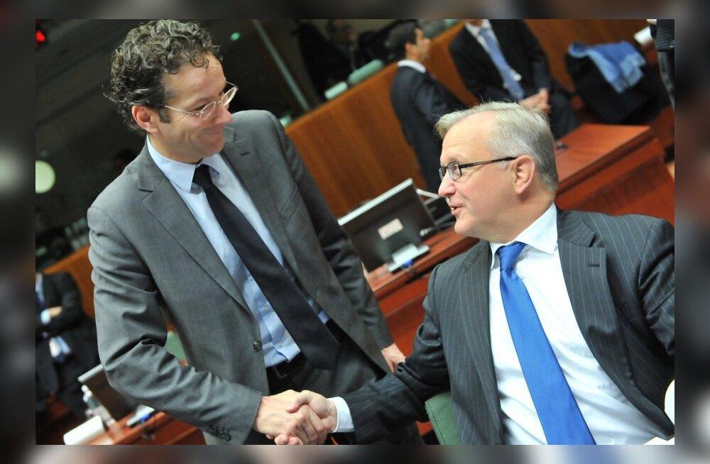 Euroopa rahandusministrid jõudsid kokkuleppele pangaliidu osas