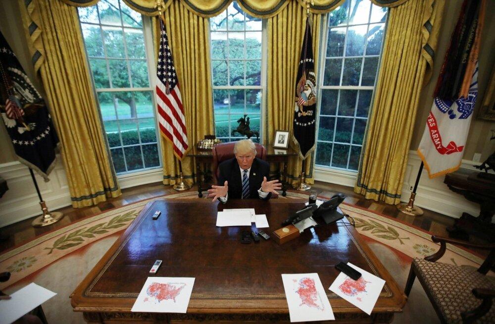 NYT: Trump ärkab kell 5.30, vahib kuni 8 tundi päevas telerit ja joob 12 dieetkoolat