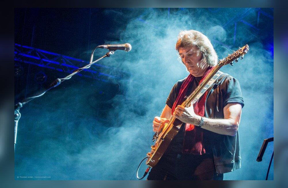 Legendaarne kitarrist Steve Hackett esineb taaskord Eestis!