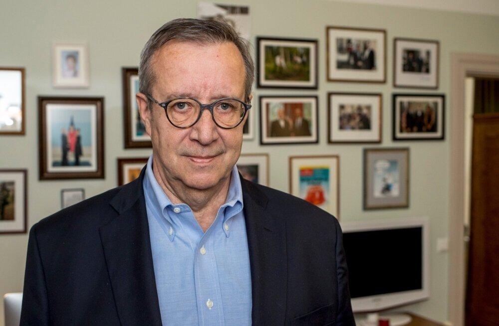 Toomas Hendrik Ilves Läti Delfile: Eesti valitsuses on intellekt saapa tasemel