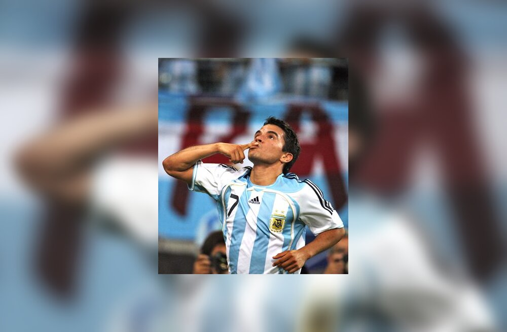 Argentina koondise ründaja Javier Saviola