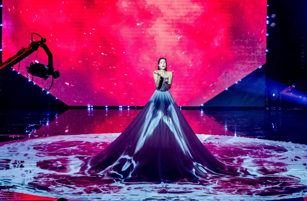 """Rahva ja žürii üksmeelse otsuse järgi esindab Eestit maikuus Lissabonis toimuval Eurovisionil Elina Nechayeva lauluga """"La forza""""."""