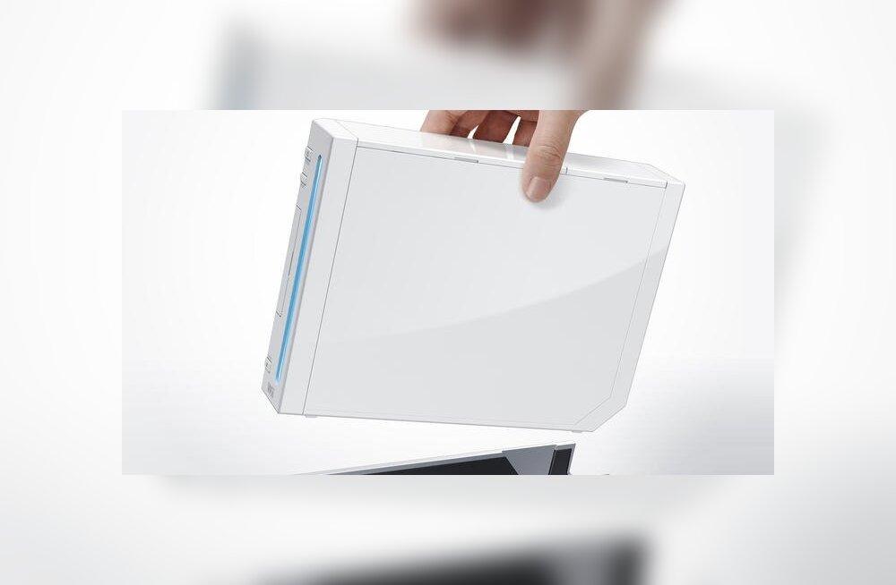 Siin pildil on veel esimene Wii