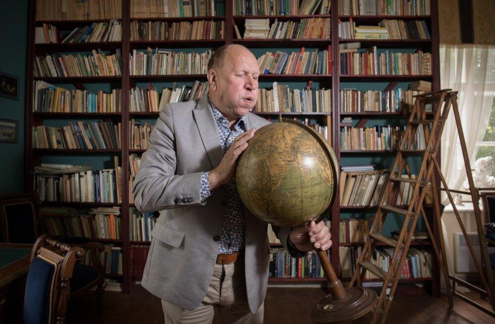 Juubilar Mart Helme mõne aasta eest oma Suure-Lähtru mõisas Läänemaal