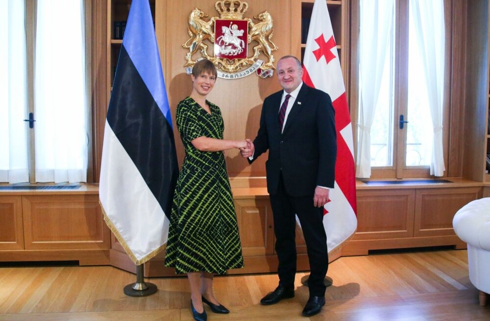 President Kaljulaid Gruusias