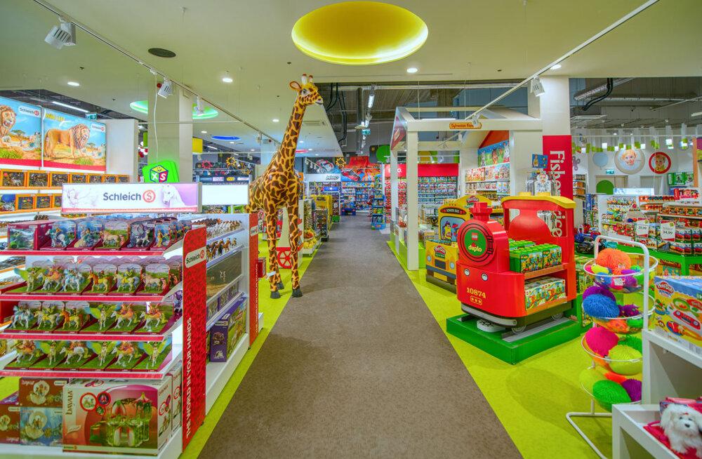 XS Mänguasjad открывает свой самый большой магазин игрушек в торговом центре T1
