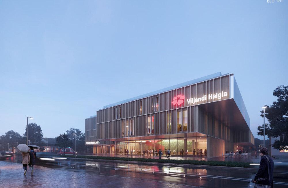 ФОТО: Выяснился победитель архитектурного конкурса нового больнично-оздоровительного комплекса Вильянди