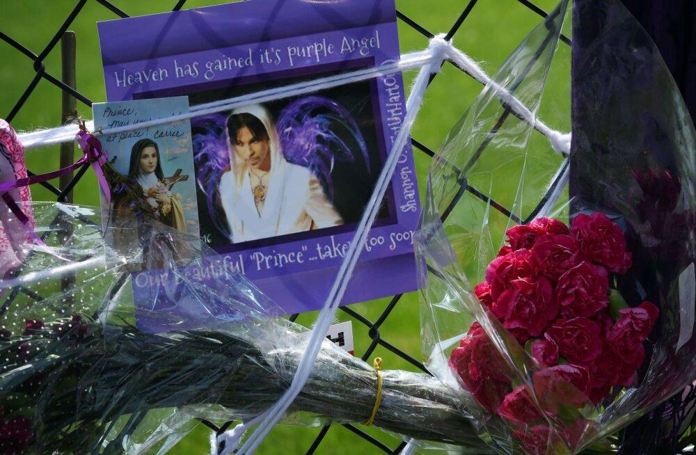 Täna maeti Prince: Staari viimne puhkepaik jääb saladuseks