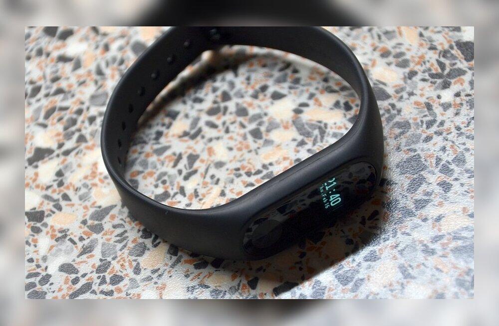 TEST: Xiaomi pulsikell Mi Band 2 – odav, aga nimekas