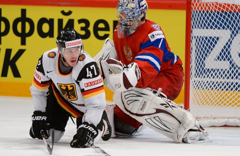 RUSSIA-GERMANY Ice Hockey WC