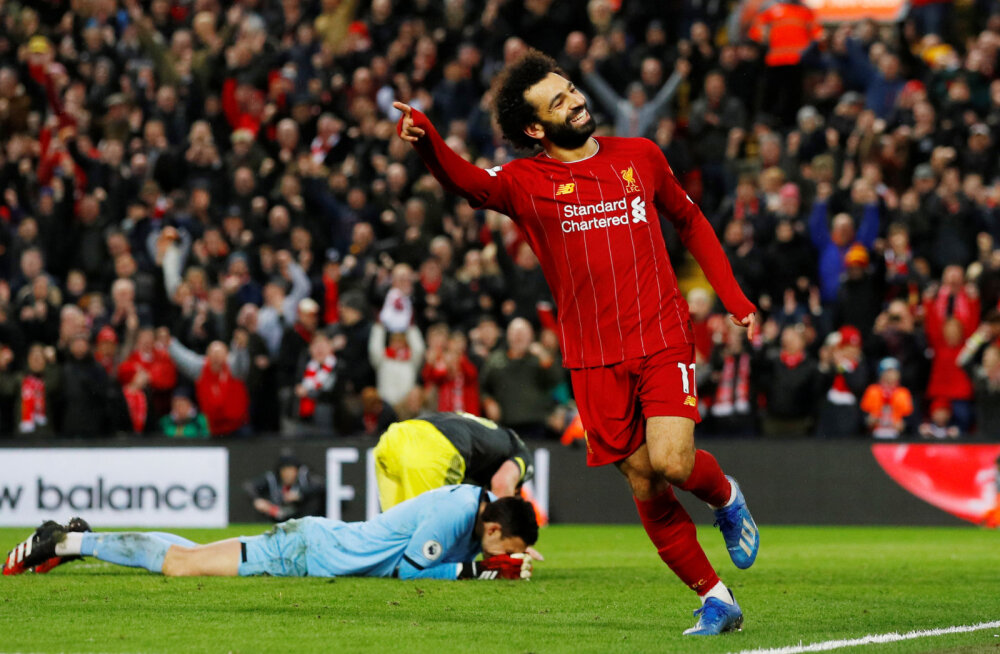 Võidult võidule sammuv Liverpool kasvatas edu lähimate konkurentide ees juba 22-punktiliseks