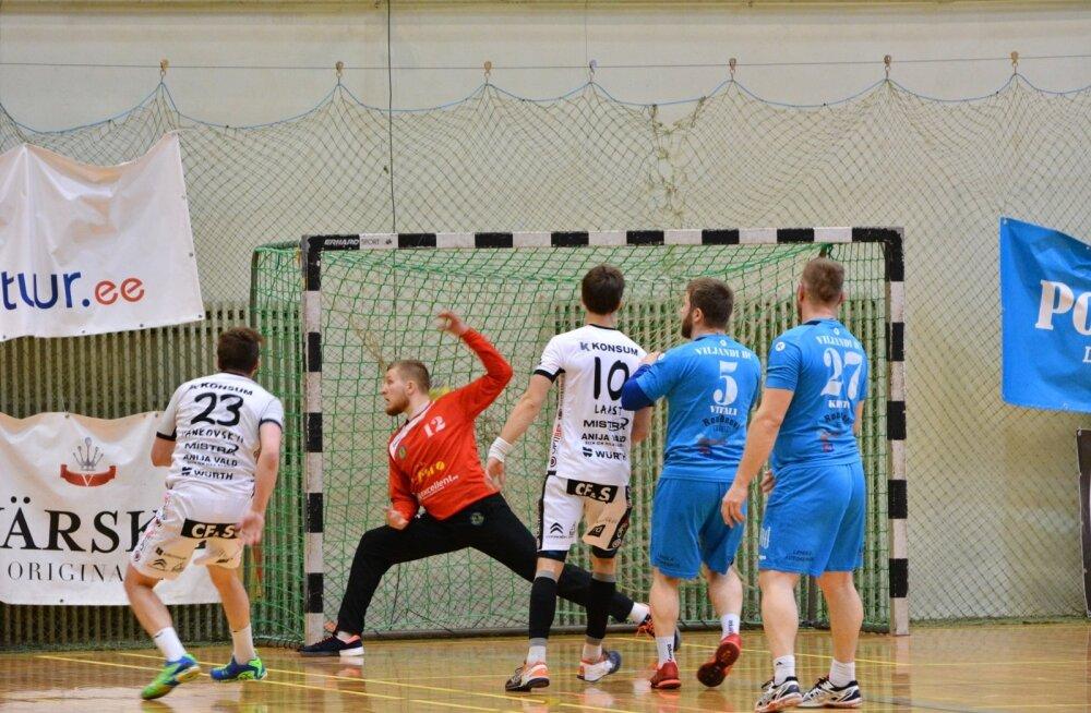 Käsipall Viljandi HC ja HC Kehra/Horizon Pulp&Paper