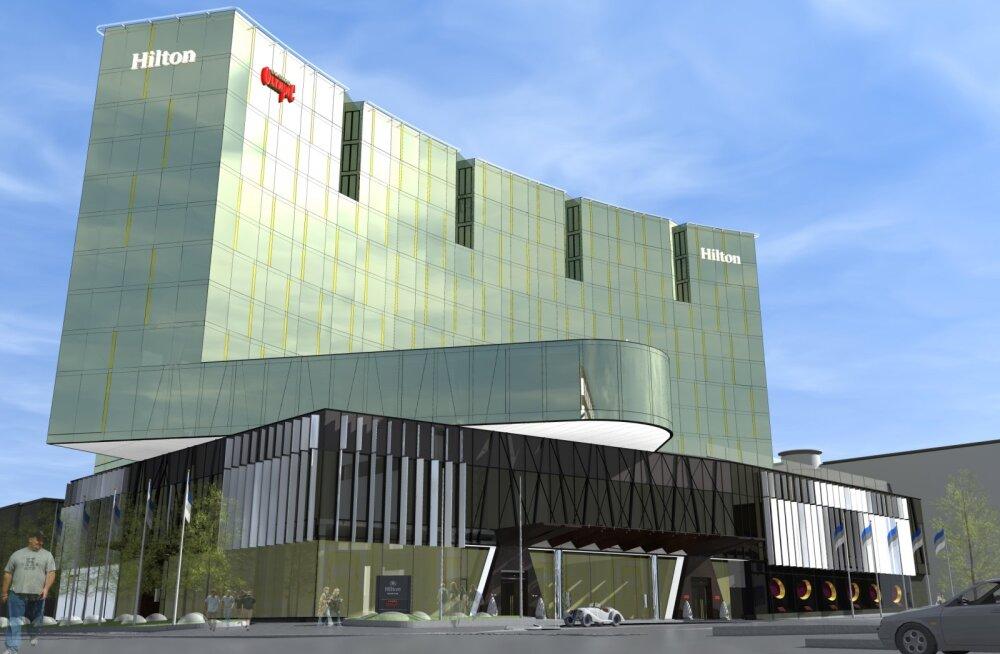 Hilton Tallinn Park avab oma uksed mai lõpus