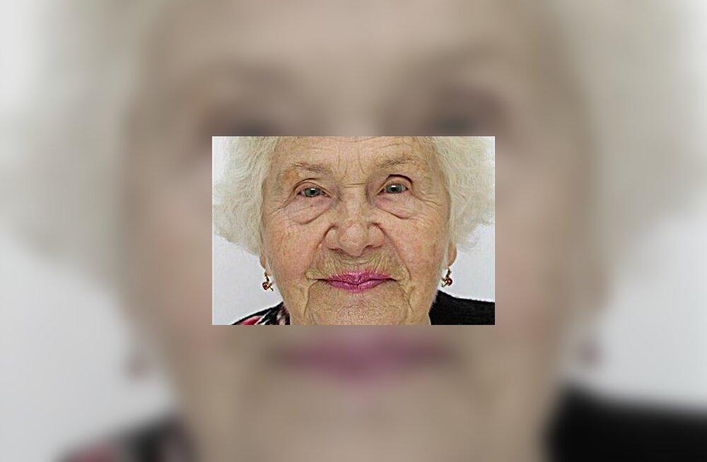 FOTO | Politsei otsis Tallinnas kadunud 86-aastast Zinaidat