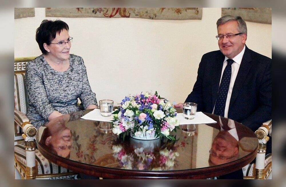 President Komorowski kinnitas Ewa Kopaczi ametlikult Poola peaministrikandidaadiks