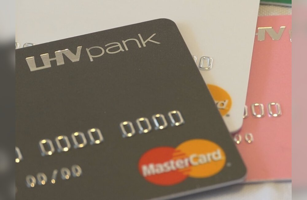 ФОТО: LHV Pank начал выдачу банковских карт