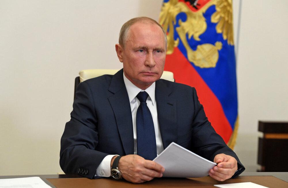 Putin teatas töövaba perioodi lõppemisest Venemaal alates tänasest