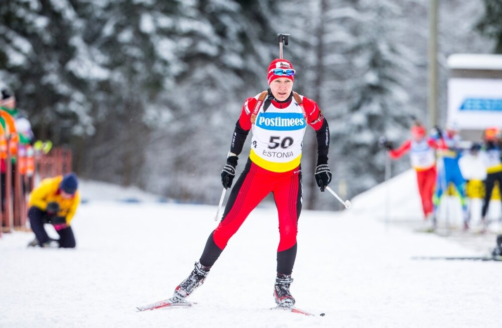 Eesti 2016. aasta laskesuusatamise meistrivõistluste sprint