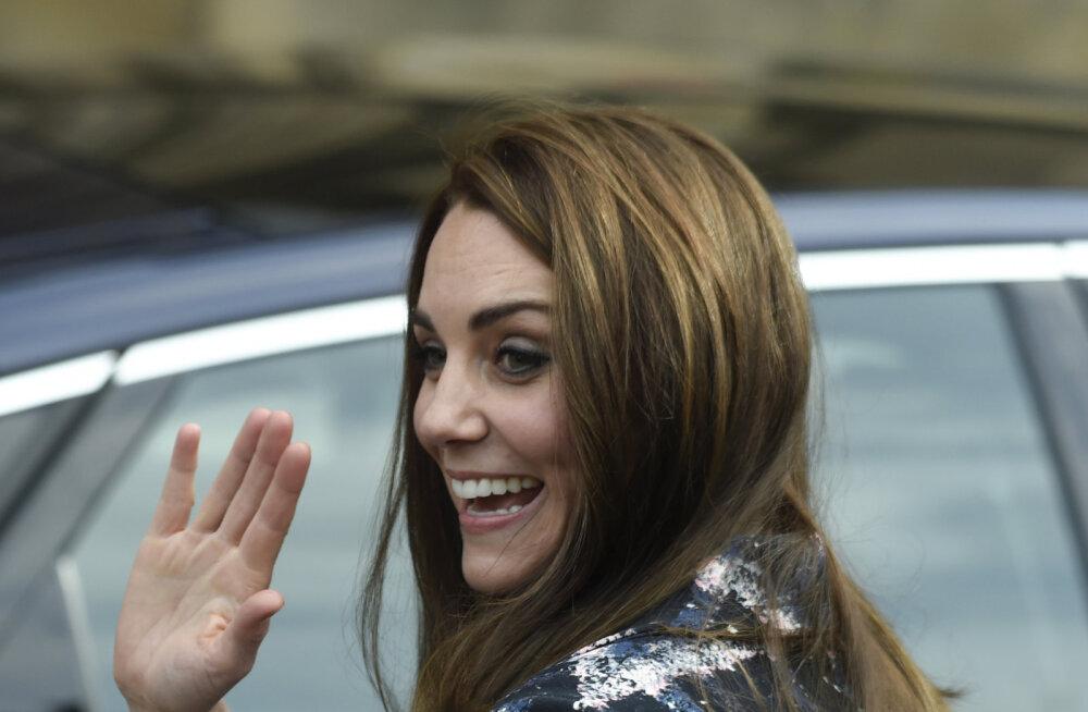 VIDEO | Britte beebiuudisega rõõmustanud hertsoginna Catherine ilmus üle pika aja taas avalikkuse ette