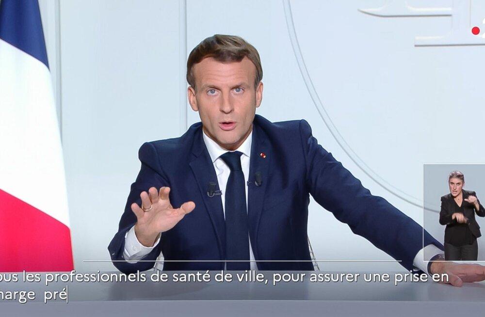 Во Франции объявлено о введении общенационального карантина