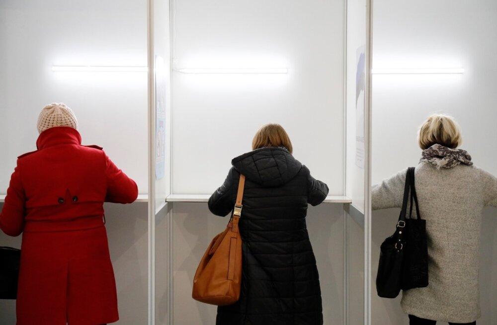 Eelhääletamine Solarise keskuses