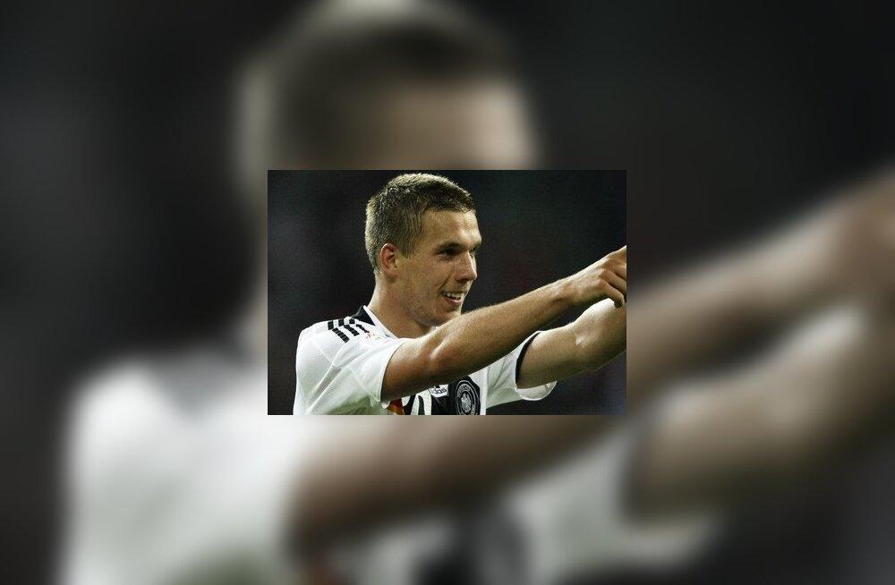 Podolski siirdub Arsenali 11 miljoni naela eest