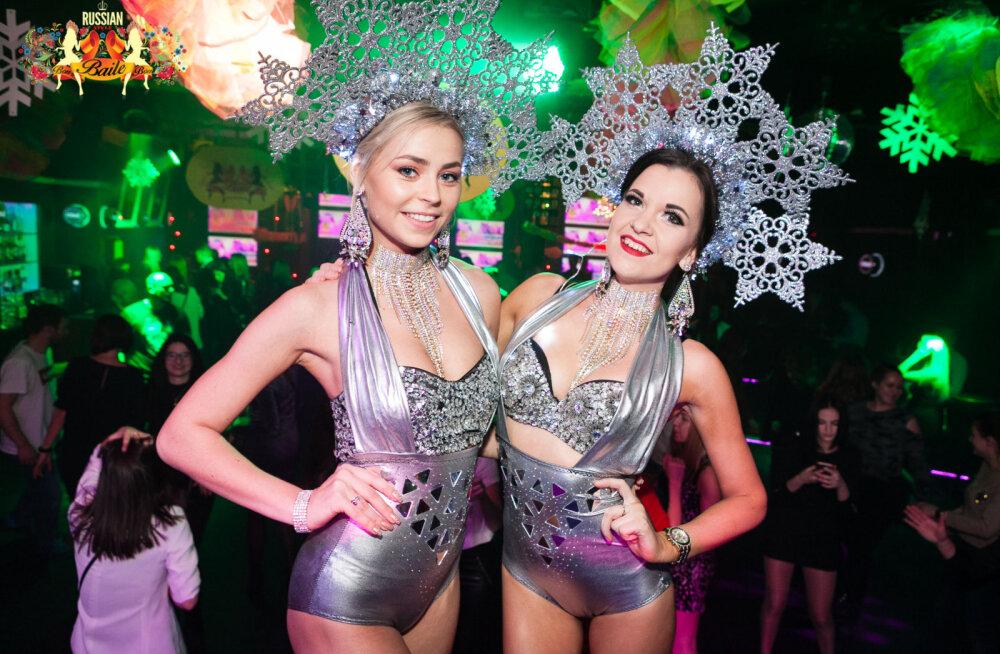 """Первая в новом году """"Самая веселая русская вечеринка города"""" BAILE-bon в ночном клубе Privé!"""