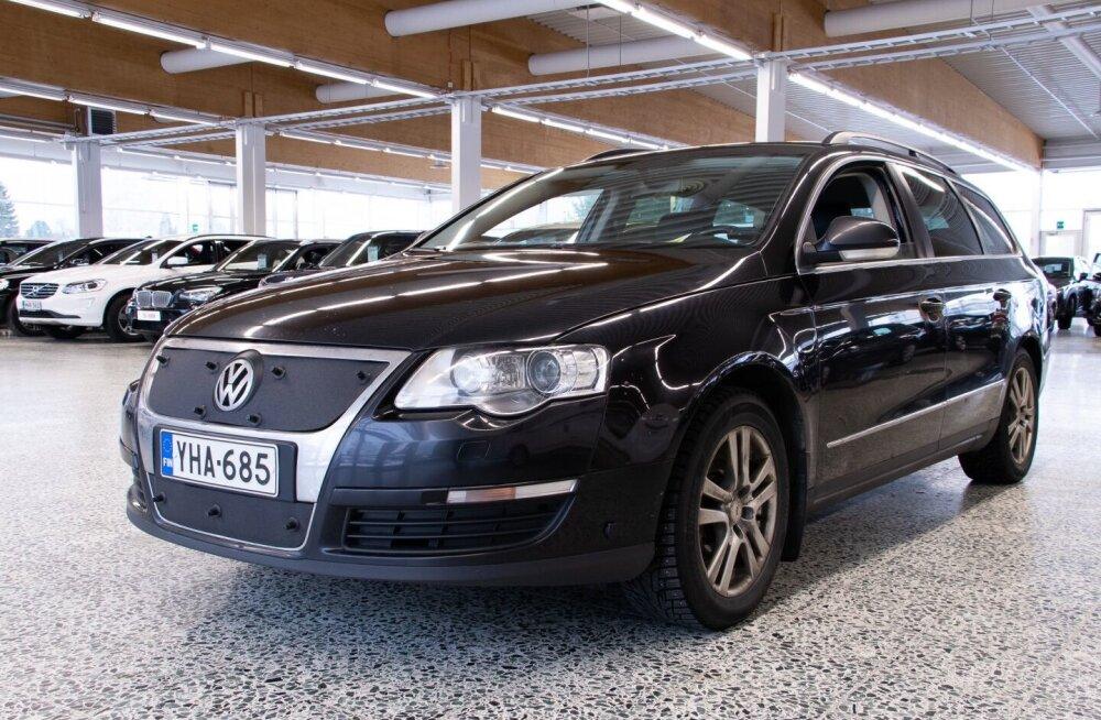Tallinnas kaduma läinud Volkswagen Passat.