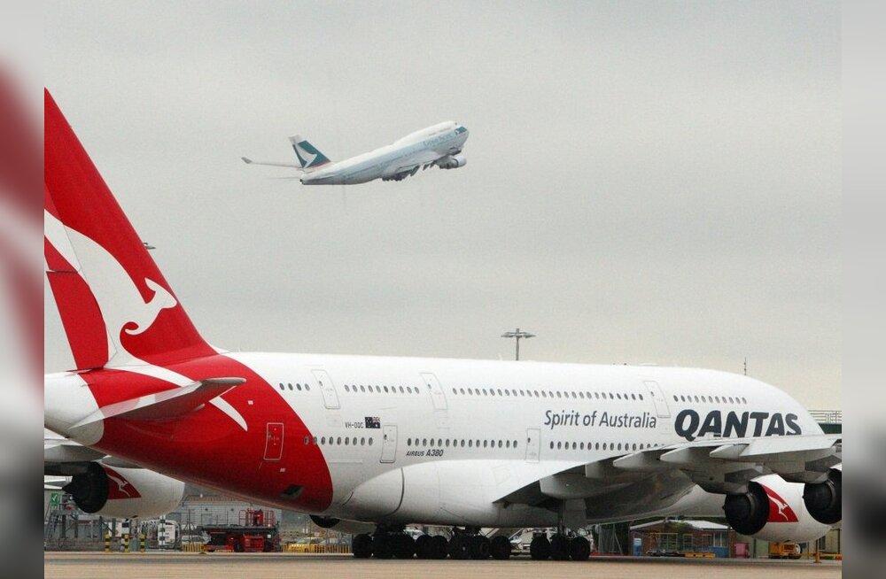 Austraalia töövaidluskohus sundis Qantase tööd jätkama