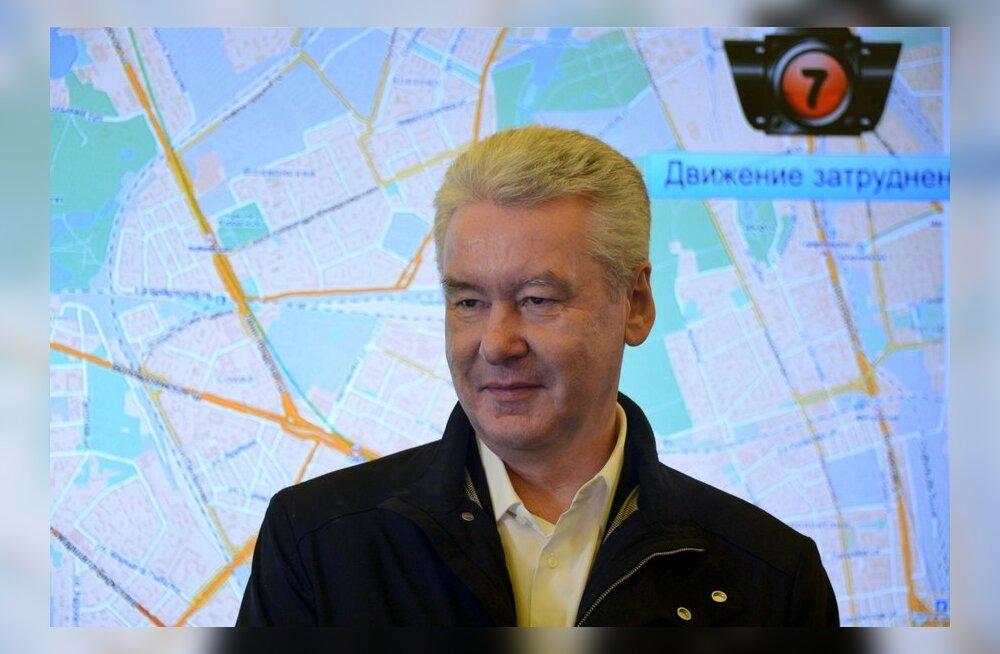 Sobjanin võitis Moskva linnapea valimised esimeses voorus, Navalnõi ei tunnusta
