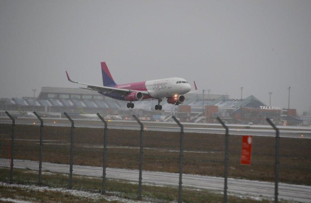 Tormituul võib põhjustada Tallinna lennujaamas hilinemisi