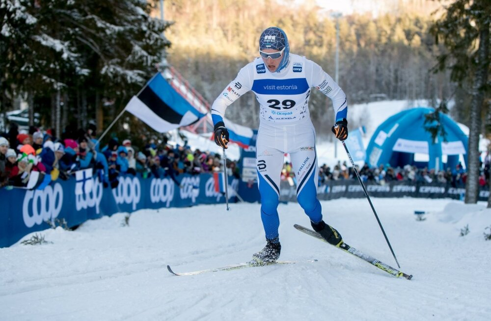 Karel Tammjärv Otepää MK meeste 15km sõidus