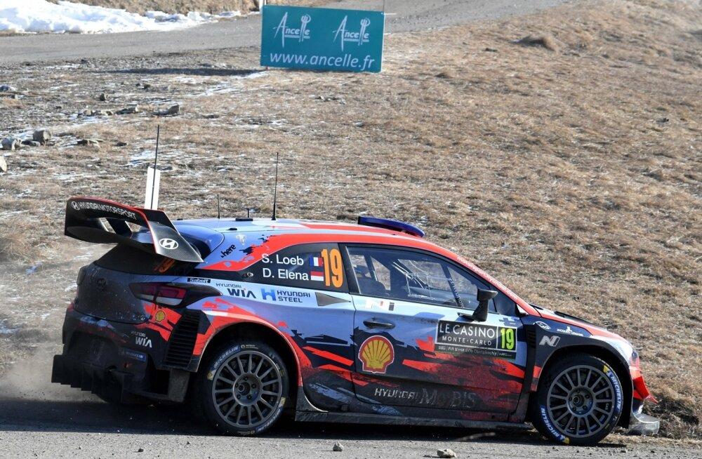 Sebastien Loeb Hyundai roolis.