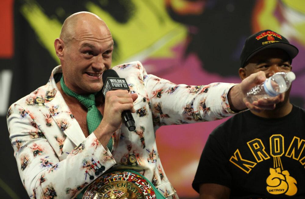 Tyson Fury kisti ootamatult tagasi aastatetagusesse dopinguskandaali