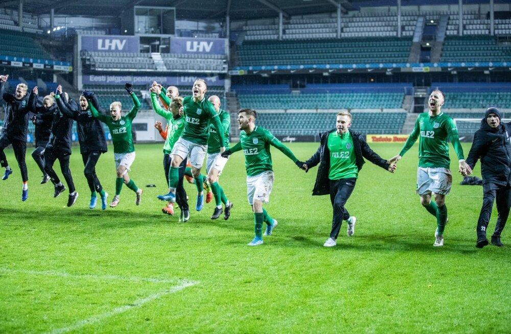Üks kõigi ja kõik ühe eest. Nii see FC Flora 12. Eesti meistritiitel tuli.