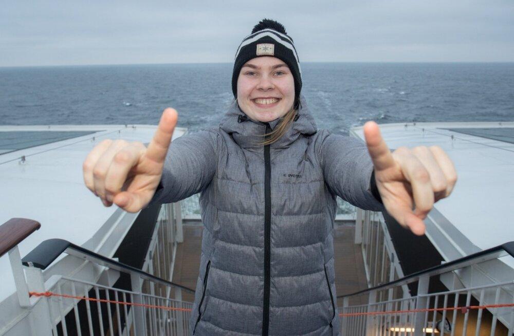 Eile Soome reisinud Kertu Laak loodab täna Eesti naiskonnaga põhjanaabrid alistada ning siis on põhjust näppe püsti tõsta küll.