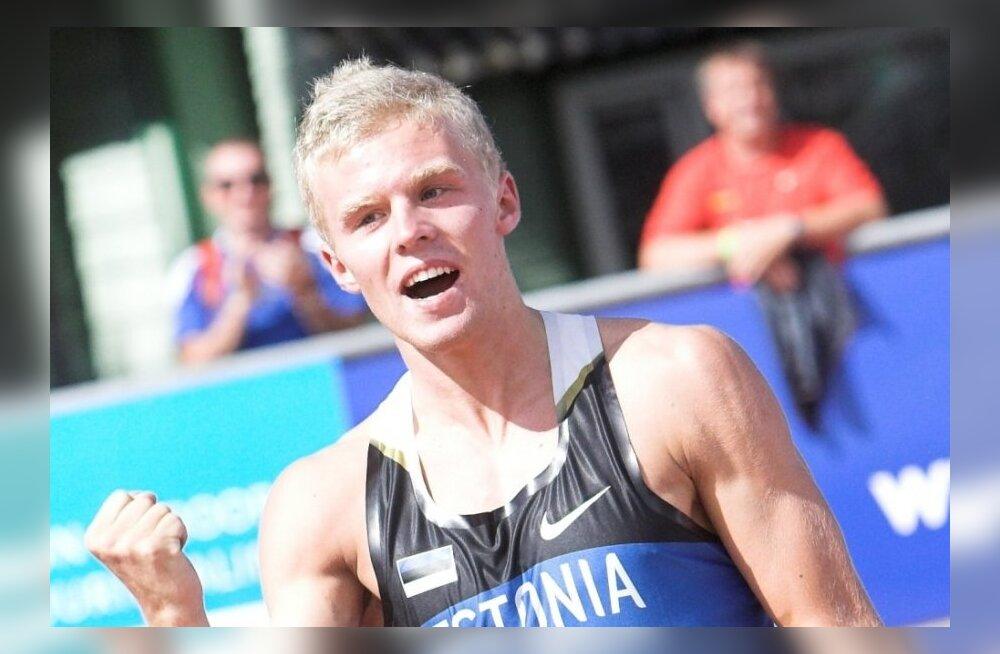 Juunioride MM-i avapäev: Kümnevõistlejad Saluri ja Leemet jooksid 400 meetrit alla 50 sekundi!