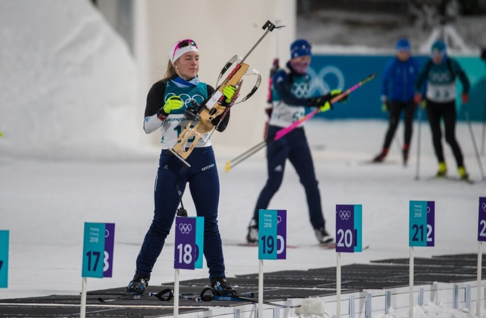 PyeongChang2018 naiste laskesuusatamine
