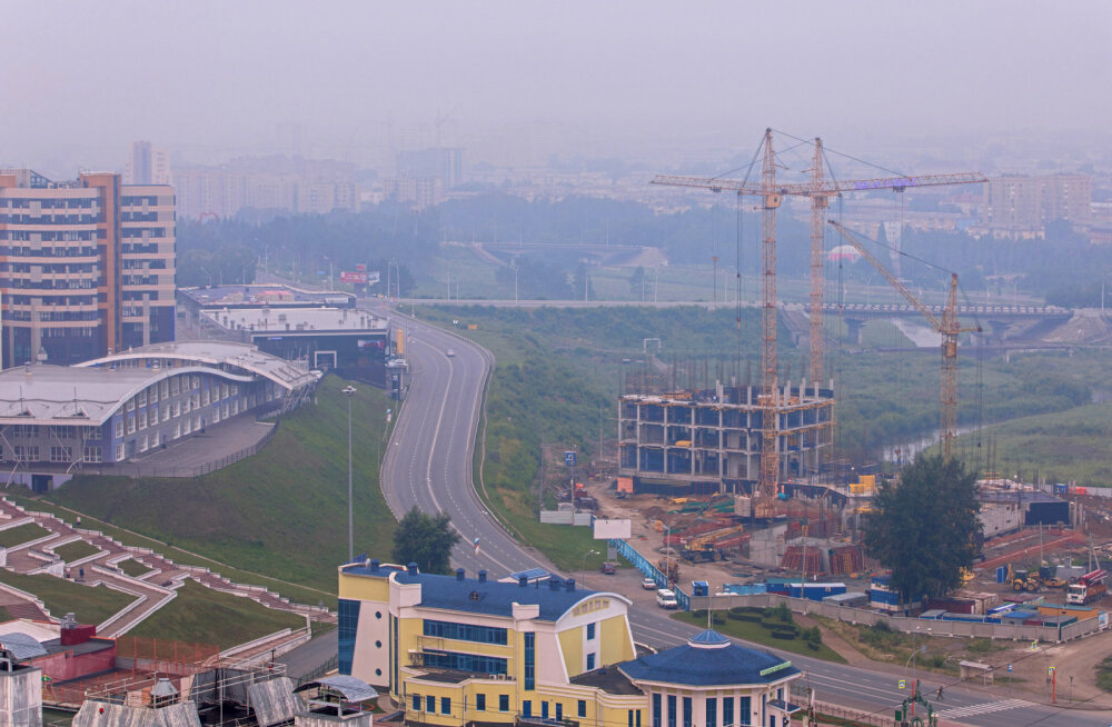 ФОТО | Лесные пожары в Сибири продолжаются: дым распространяется по России все дальше