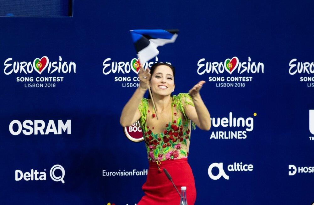 Elina Nechayeva ei varjanud pärast edukat etteastet poolfinaalis, et saab laupäeval end taas Eurovisiooni laval tõestada.
