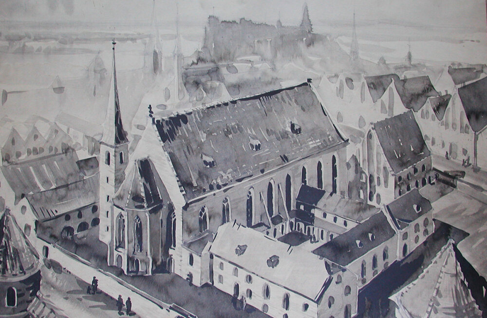 Jaak Juskega kadunud Eestit avastamas: keskaegse Tallinna suurima pühakoja kurb saatus