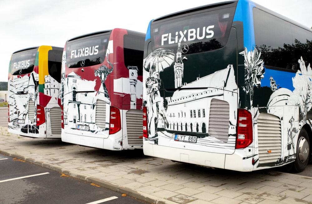 Euroopa suurim bussifirma alustab järgmisest nädalast Tallinnast reisijate vedu