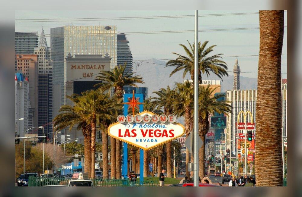 Las Vegas püstitas külastusrekordi: sel aastal käis patulinnas 40 miljonit turisti