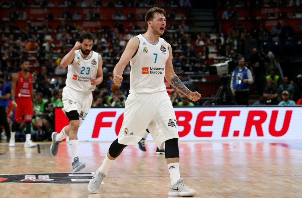 Luka Doncic Euroliiga Final Fouril